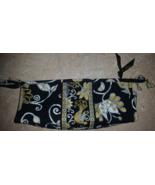 Vera Bradley Yellow, Black & White Bird Flower Makeup Bag New - $14.99