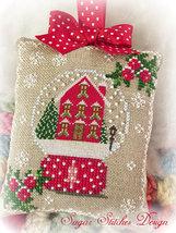 Snow Place Like Home PDF snowglobe christmas cross stitch Sugar Stitches Design  - $5.00