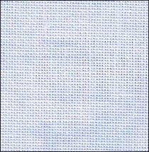FABRIC CUT 28ct vintage blue whisper cashel linen 10x11 Let It Snow - $6.00