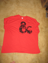 Dungeons & Dragons Red Tee 3xl - $16.00