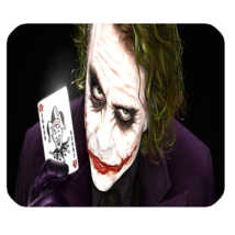 Mouse Pad Joker With Card American Superheroes In Batman Movie For Game Anime - $9.00