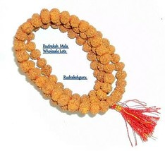 5 Mukhi Rudraksha Mala - Wholesale Lots  - $39.20+