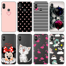 Cartoon Cat Minnie Phone Cases For Xiaomi Redmi Note 6 Pro Case Silicone... - $13.95