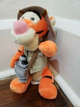 "Disney Parks Exclusive 10"" Jungle Safari Tigger, Animal Kingdom Stuffed ... - $12.59"