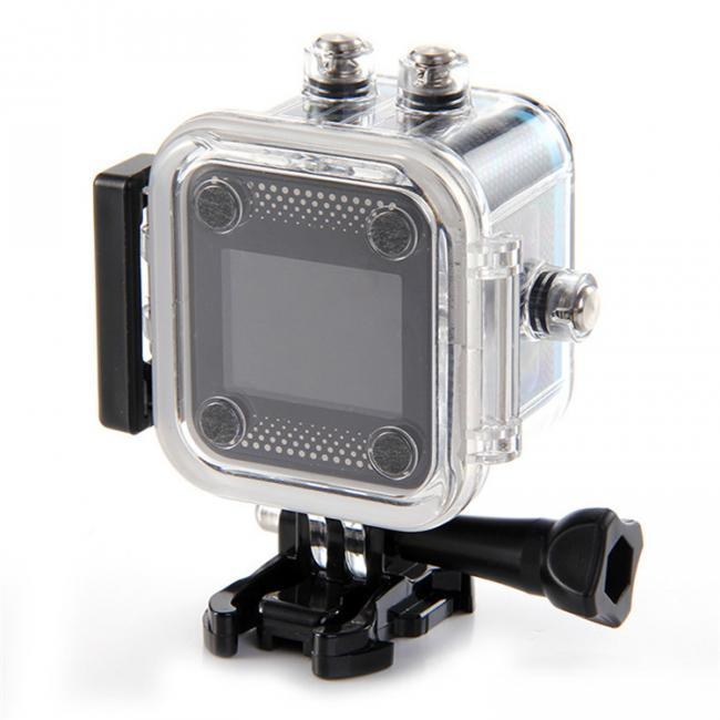 "sjcam m10 white 1.5"" screen 1080p 30fps waterproof wifi mini action sport camera"