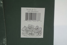The Boyds Collection Noah & Co. Ark Builders Limited Edition 1996 image 11