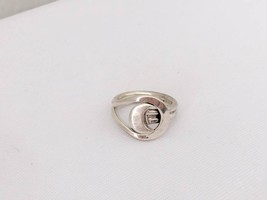 Vintage Sterling Silver Moon Ring Size 6.5 - $30.00