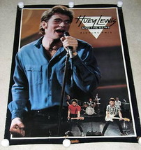 HUEY LEWIS POSTER VINTAGE 1982 PROMOTIONAL PICTURE THIS - $64.99