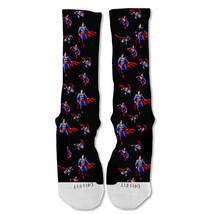 """Nike Elite socks custom Superman Action Hero Marvel """"Fast Shipping"""" - $24.99"""