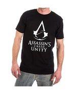 Assassins Creed Unity Logo Mens T-shirt L - $21.51