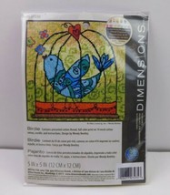 "2011 Dimensions ""Birdie"" Mini Needlepoint Kit 5""X 5""  # 71-07235 - $9.90"