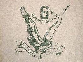 Ralph Lauren Green Eagle Casual Designer Denim & Supply T Shirt M s - $15.83