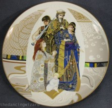 Judgment of Solomon Biblical Mothers Collector Plate Eve Licea Vintage - $35.99