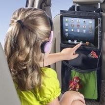 Car Back Seat Organizer Holder Auto Multi-Pocket Travel Storage Hanging ... - $303,02 MXN
