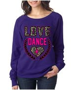 Love Dance Women's Long Sleeve Shirt Sport Love Shirt - $27.00