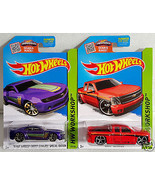 Hot Wheels '13 Chevy Camaro Special Edition & Chevy Silverado HW Worksho... - £5.98 GBP