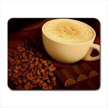 Coffee Bean Cappuccino Small Mousepad - $7.71