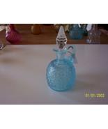 L G Wright Blue Daisy & Button Cruet - $54.45