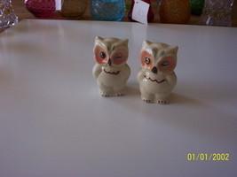 Shawnee Pottery Winking Owl Salt & Pepper Shakers - $14.85