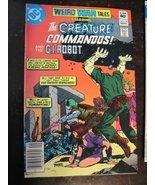 WEIRD WAR TALES THE CREATURE COMMANDOS COMIC #1... - $11.29