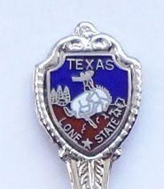 Collector Souvenir Spoon USA Texas Lone Star State - $2.99