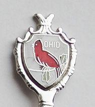 Collector Souvenir Spoon USA Ohio Cardinal Map Bowl - $2.99
