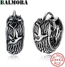 BALMORA 100% Real 925 Sterling Silver Simple Vintage Clip Earrings for W... - $44.69