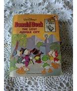 Donald Duck: The Lost Jungle City Whitman Big Little Book #5773 - $4.84