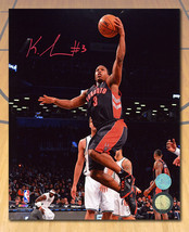 Kyle Lowry Toronto Raptors Autographed Tdot First Season Layup 8x10 Photo - $126.64