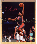 Kyle Lowry Toronto Raptors Autographed Tdot First Season Layup 8x10 Photo - $126.64