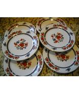 6 Crown Ming Jian Shiang Salad Dessert Vintage ... - $48.51