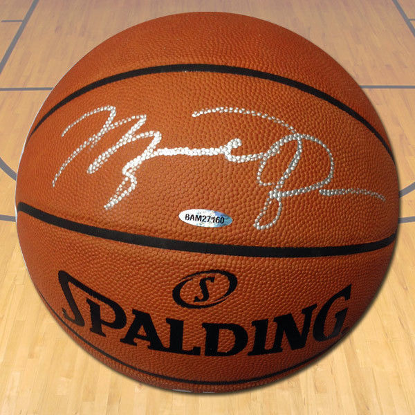 Michael Jordan Autographed Spalding NBA Official Game Basketball