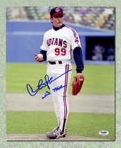 Charlie Sheen Autographed Major League 11x14 Photo w/ Wild Thing Note - $372.46