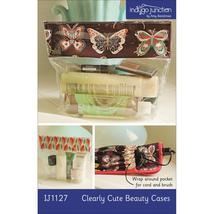 Indygo Junction Clearly Cute Beauty Cases Patte... - $9.90