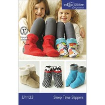 Indygo Junction Sleep Time Slippers Pattern (IJ... - $9.90