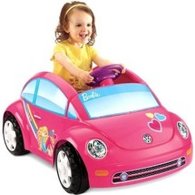 Power Wheels Barbie Beetle Ride On Toys Car Bat... - $268.15
