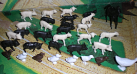 HO Scale Trains - Farm Animals (Lot of 30 animals) - $4.95