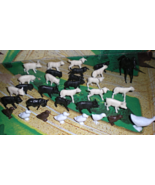 HO Scale Trains - Farm Animals (Lot of 30 animals) - $5.00