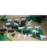 HO Scale Trains - Farm Animals (Lot of 30 animals) - $4.95