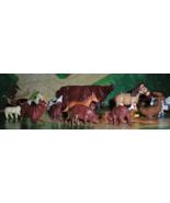 O Scale Trains Animals -( Lot of 24 Farm Animals for O Scale trains) - $5.25