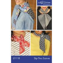 Indygo Junction Slip-Thru Scarves Pattern (IJ1118) - $10.90