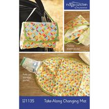 Indygo Junction Take-Along Changing Mat Pattern... - $11.90