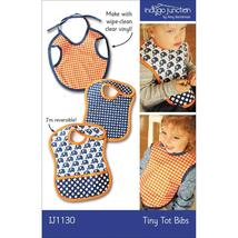 Indygo Junction Tiny Tot Bibs Pattern (IJ1130) - $11.90