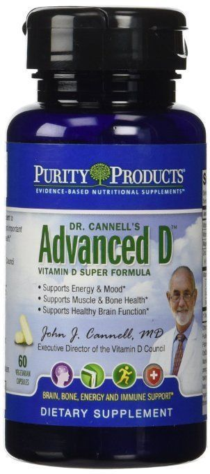 Dr. Cannell's Advanced D by Purity Products - 60 Veggie Caps