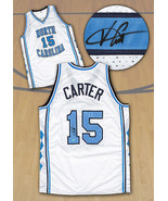 Vince Carter North Carolina Tarheels Autographed NCAA Basketball Jersey - $484.20
