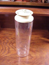 Vintage Tupperware Spaghetti Keeper Cannister Container, no. 1486-7, tan... - $6.50