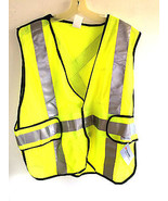 3M Reflective Clothing Yellow Safety ANSI Class II Conspicuity Vest OSFM - $23.99