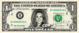 KATE MIDDLETON on REAL Dollar Bill Cash Money Bank Note Currency Celebrity - $4.44+