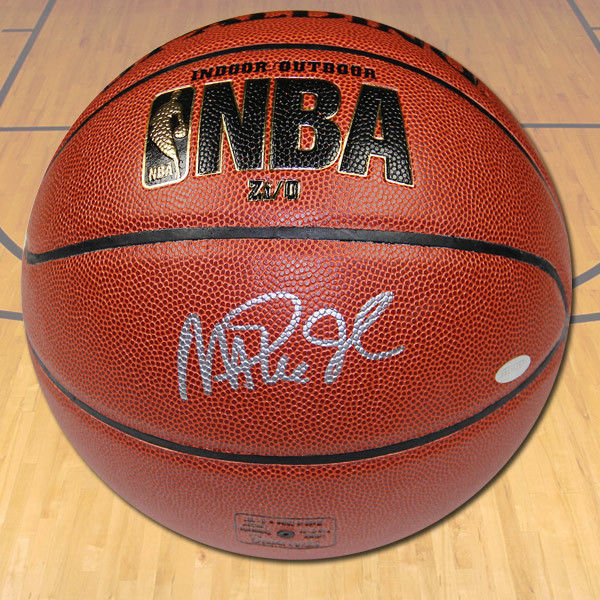 Magic Johnson Autographed Spalding NBA I/O Basketball - LA Lakers