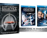 Battlestar Galactica: The Remastered Collection (Blu-ray Disc, 2015, 8-Disc Set)
